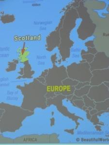 Návštěva Skotsko
